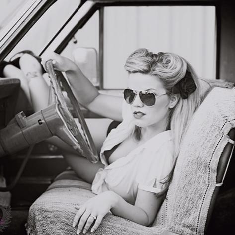 Female model photo shoot of Hayley Greenall in Lush Bodies Boudoir, Williams Lake, BC