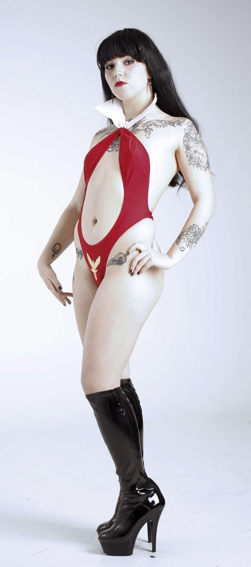 Female model photo shoot of Damiana Doe by Original Sin Photo