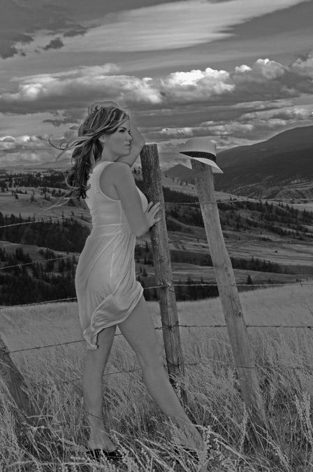 Female model photo shoot of Hayley Greenall in Williams Lake, BC