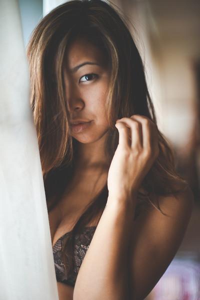 Female model photo shoot of Kristy Joy by Reese_M