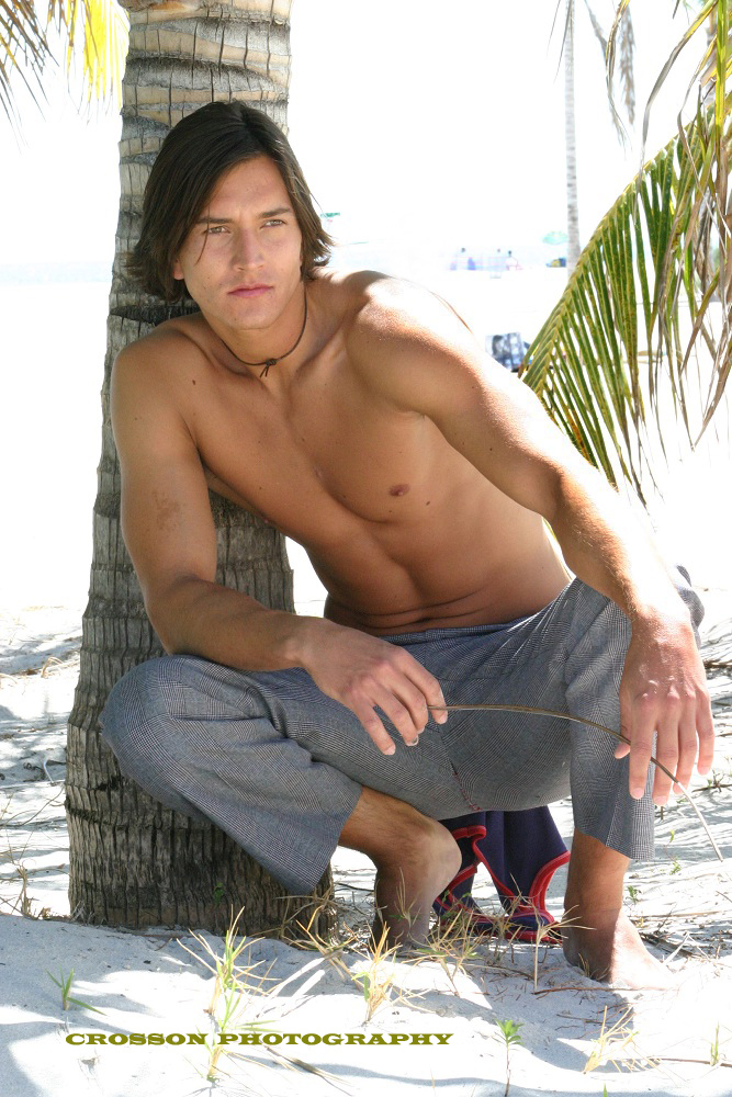 Male model photo shoot of CROSSON PHOTOGRAPHY in South Beach