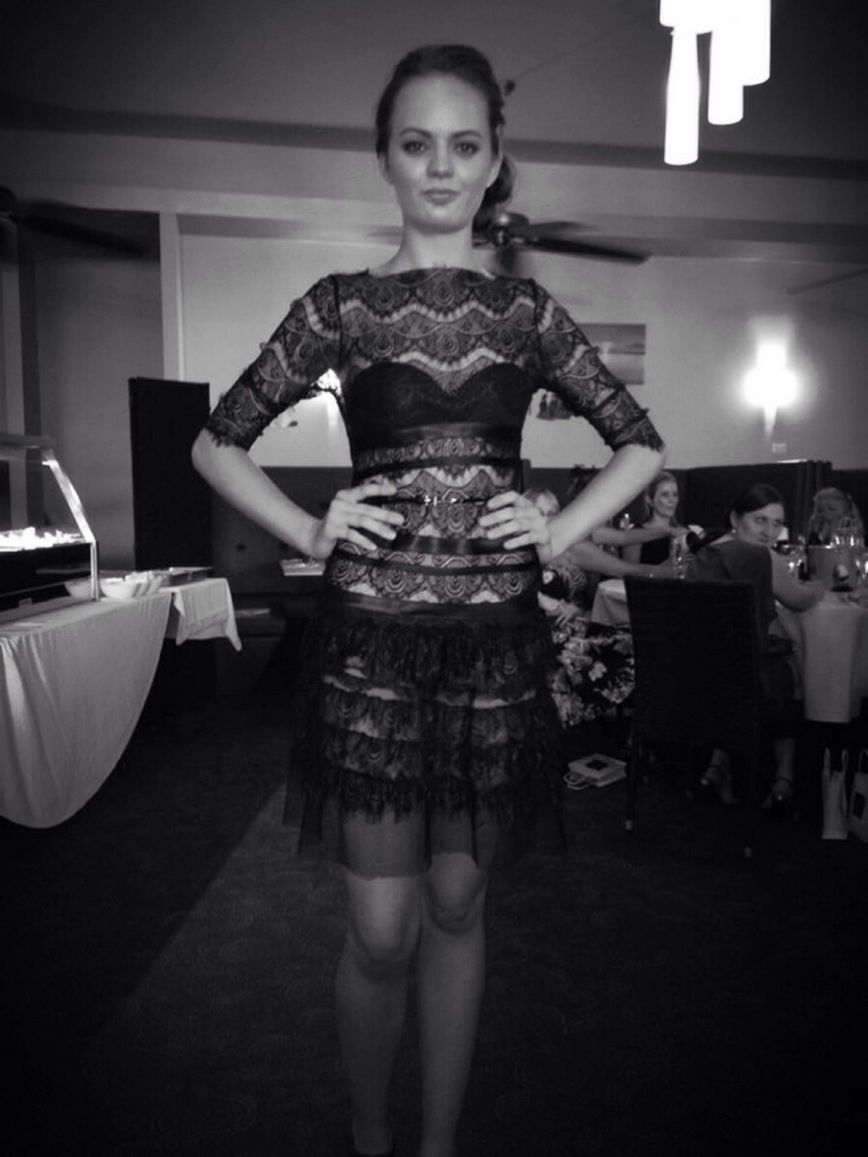 Female model photo shoot of Dimittys Baird