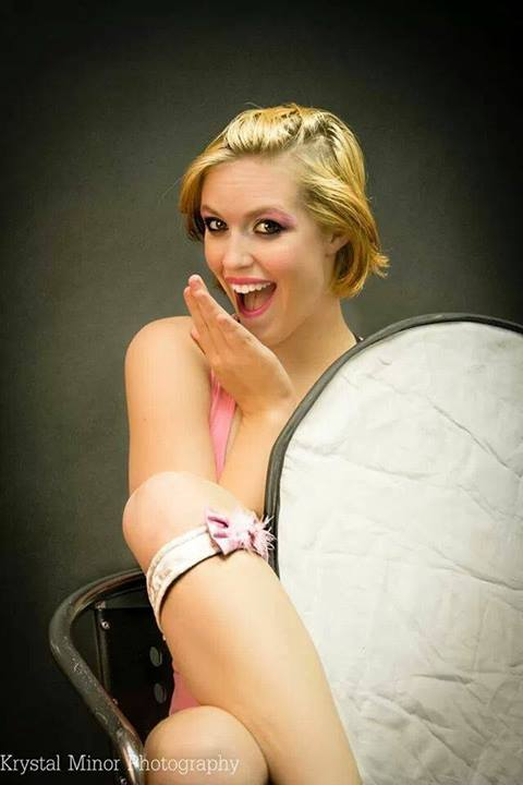 Female model photo shoot of Bri Leeson, makeup by Makeup by DOM