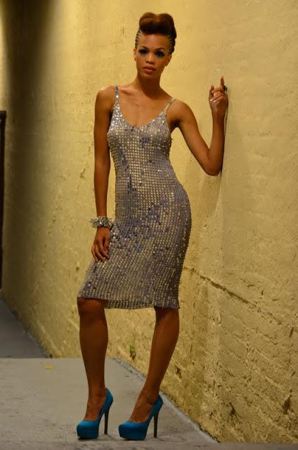 Female model photo shoot of Flawless Fashion Group