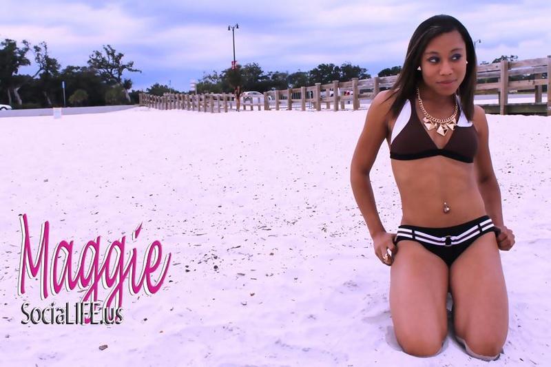 Female model photo shoot of SexiHoney228 in beach