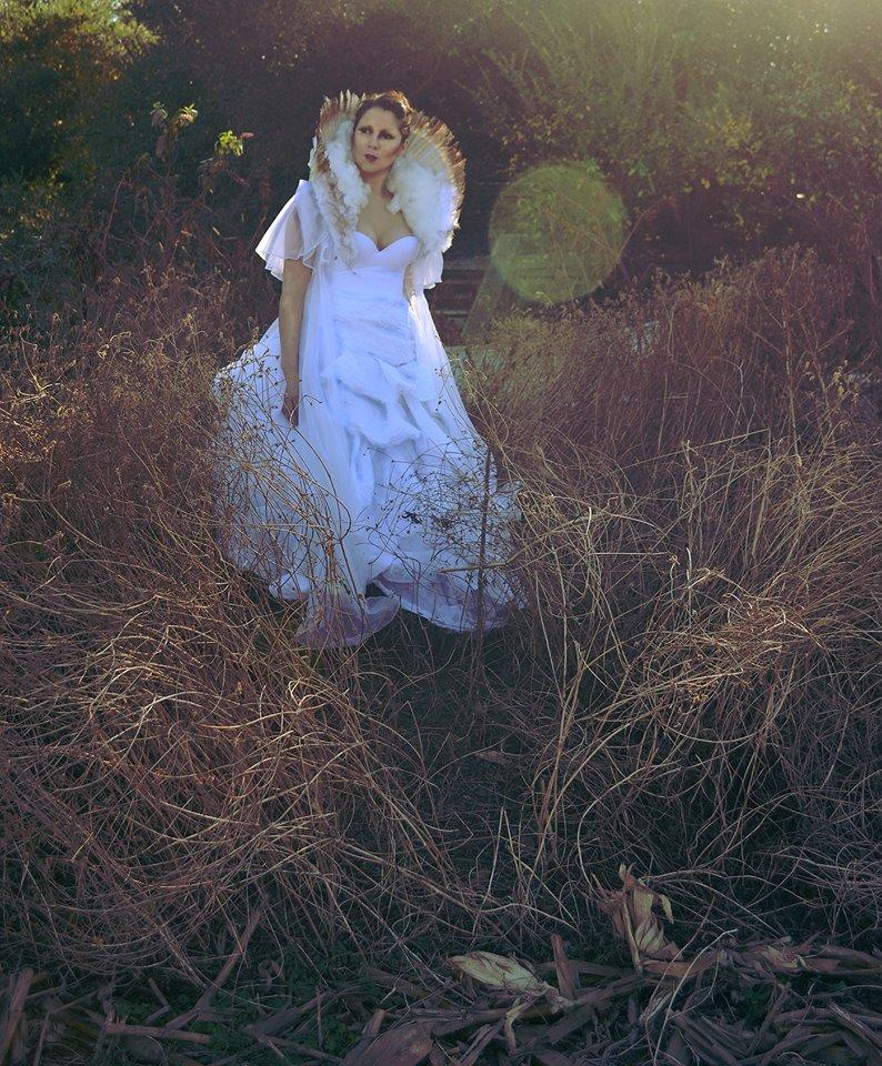 Female model photo shoot of Alexis Montclaire by Aelise B Davis