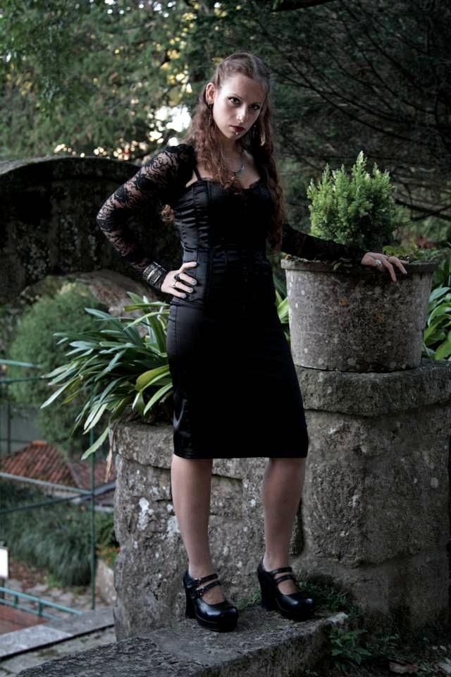 Female model photo shoot of Claudia Fonseca in Sintra, Portugal