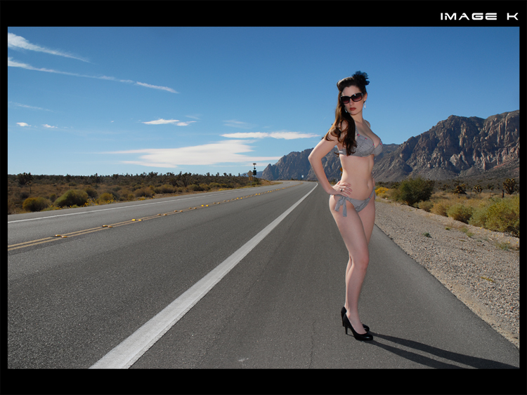 Female model photo shoot of Crystal Chapson in Red Rock