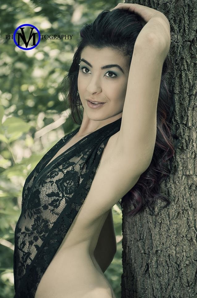 Female model photo shoot of Angelica C by Vin Milan Photography in Earl Bales Park
