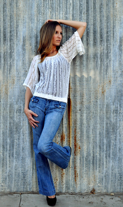 Female model photo shoot of SarahBerberea by Erin Koski