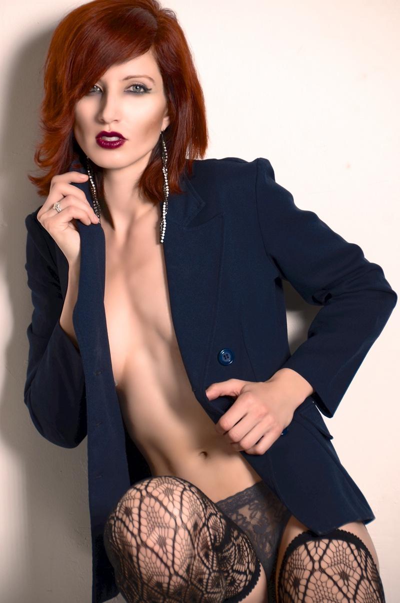 Female model photo shoot of xtine by d o u g l a s