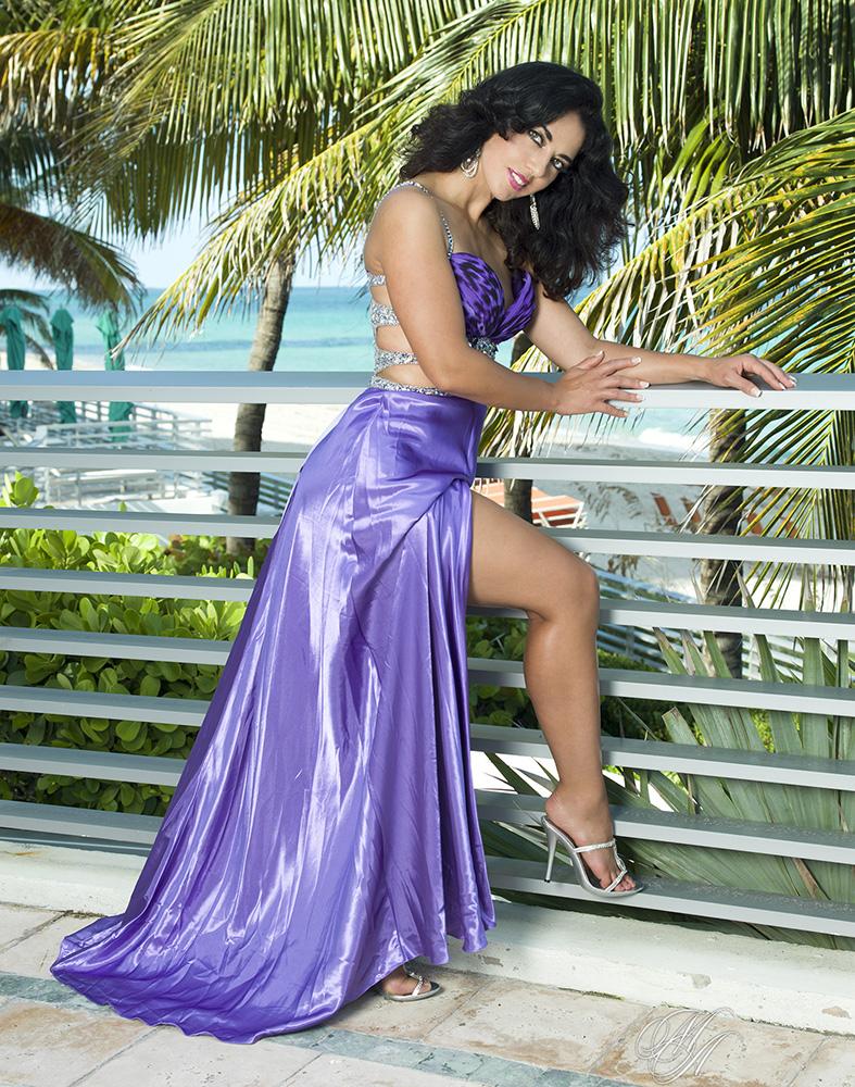 Ft.Lauderdale Nov 28, 2013 Michael Anthony Glamour Jackie Stevens Jovani Dress
