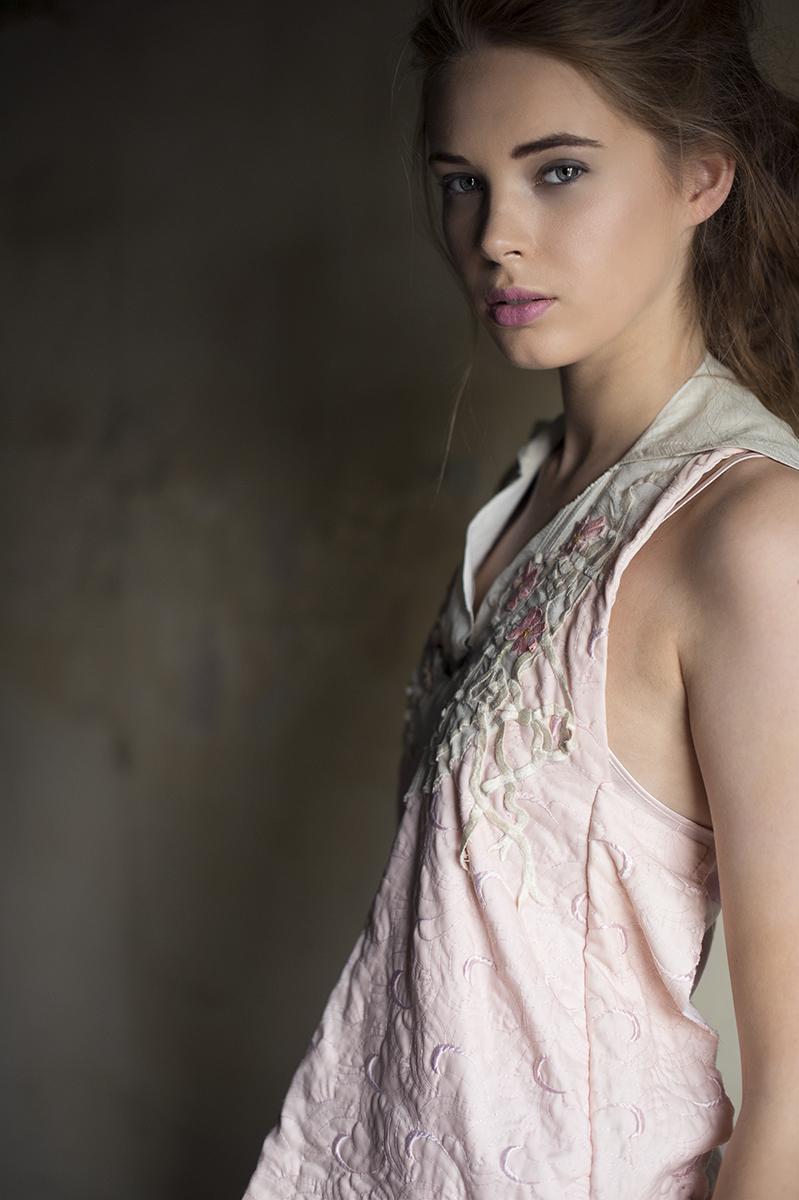 Female model photo shoot of Catherine Dineley in Airspace gallery Hanley