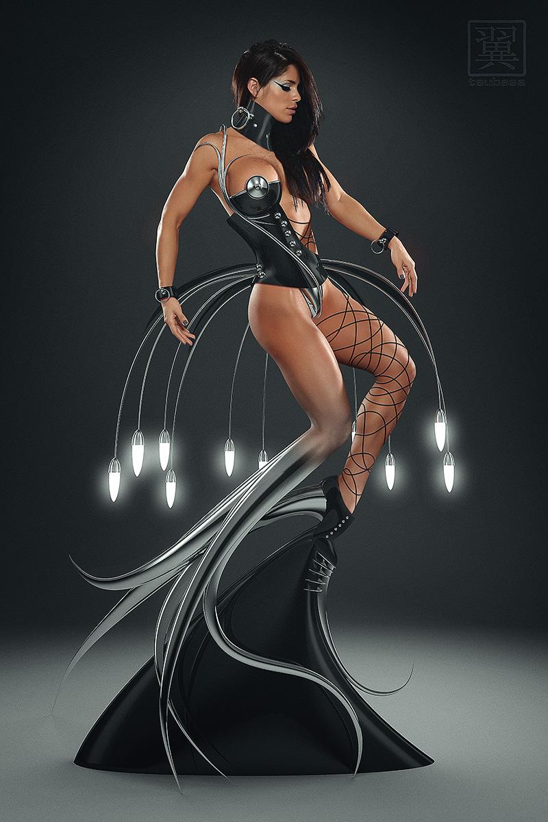 Dec 02, 2013 2013 tsubasa Model = Michelle Lewin  Base Photo = Javier Hernandez-Inline Photography