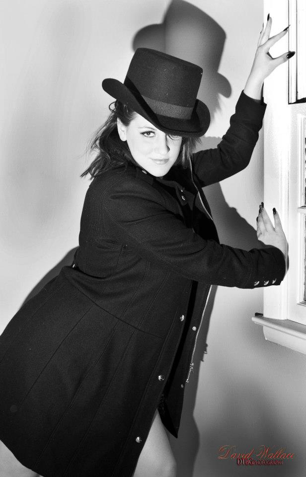 Female model photo shoot of Charlie Rippe