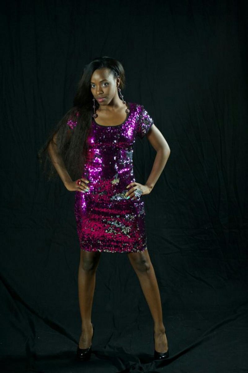 Female model photo shoot of Miss Necessity
