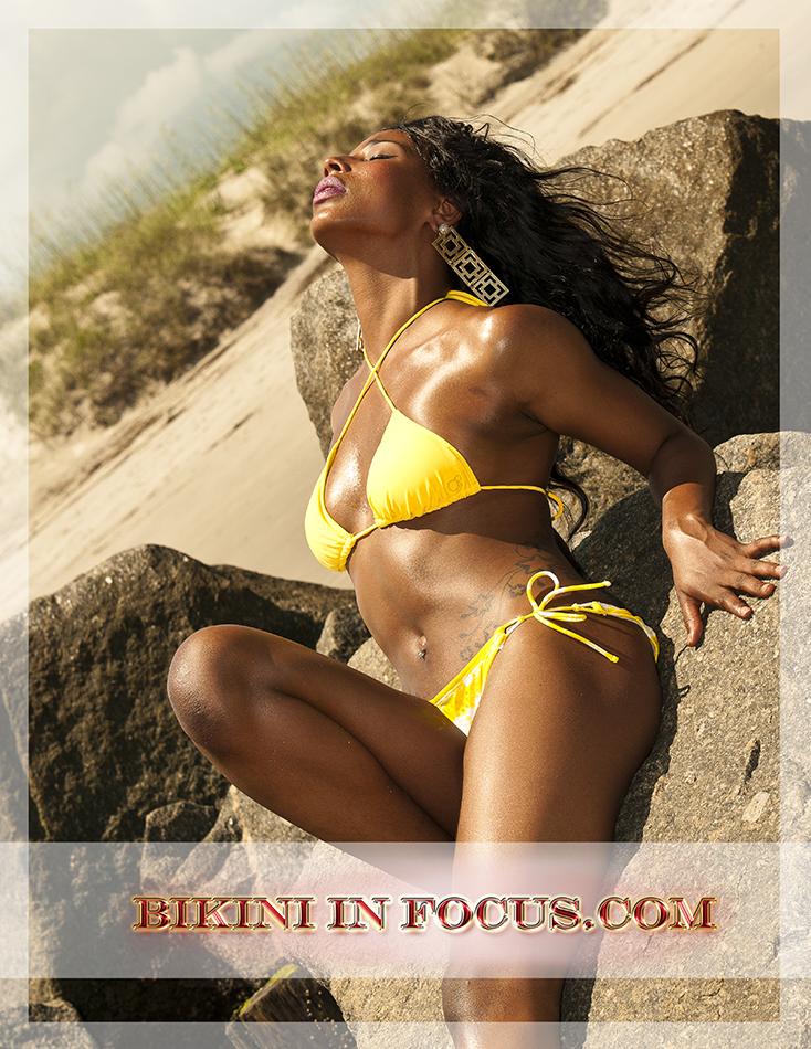 Exotic Beach Location Dec 11, 2013 Bikini In Focus.com Model Marie Torres