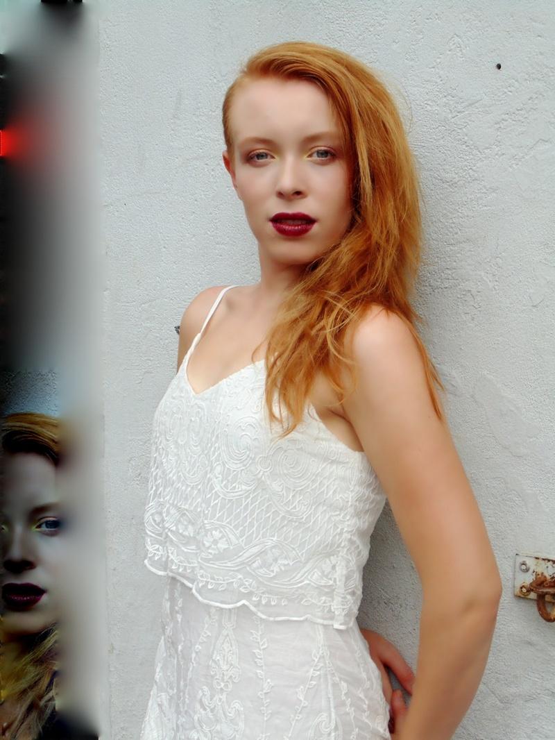 Female model photo shoot of _sarah christine_ in French Quarter, NOLA