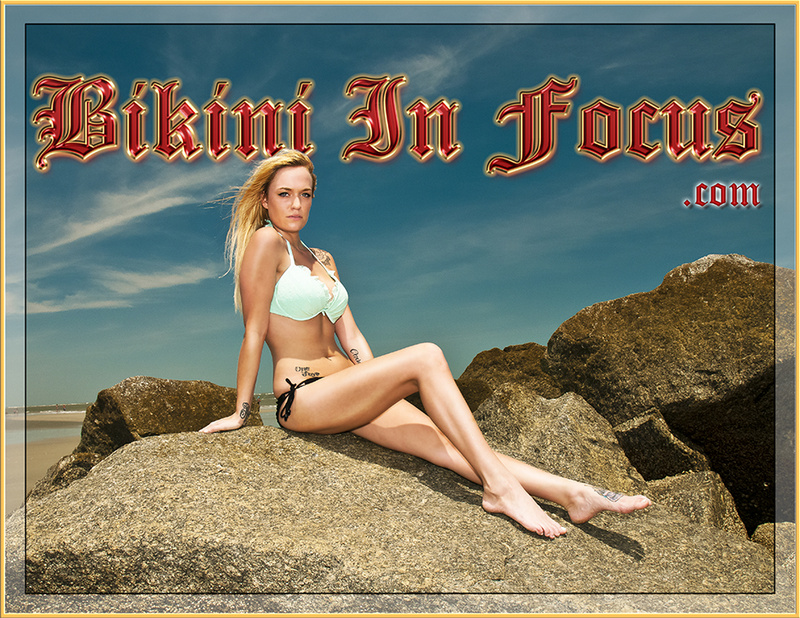 Private SC Beach Dec 17, 2013 Bikini In Focus.com Model Elizabeth Kingg