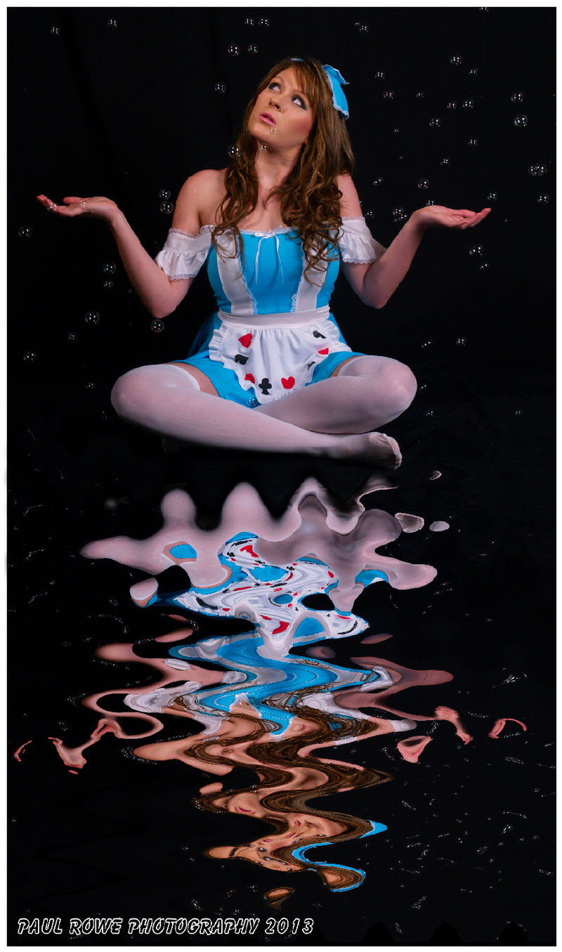 Rowe Photographic Studios UK Dec 18, 2013 Paul Rowe Photography Alice in Wonderland