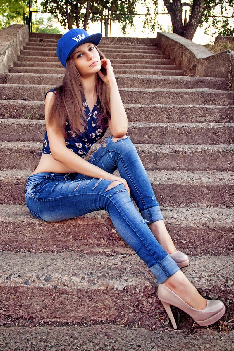 Female model photo shoot of Christine Harper in Moldova, Chisinau