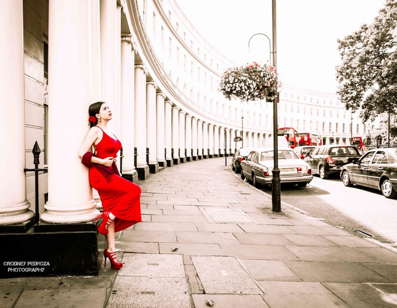 London Dec 19, 2013 Rodney Pedroza Photography (not on MM) Lady in Red