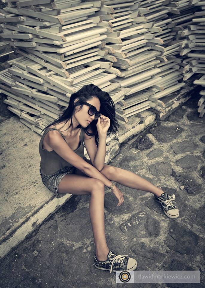 Female model photo shoot of maeybasri by Dawid Markiewicz in Canggu, Bali