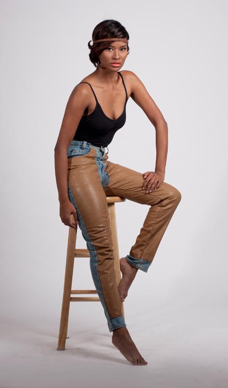 Female model photo shoot of sgb vintage