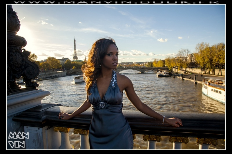 Paris, France Dec 28, 2013 Man Vin Janay from USA