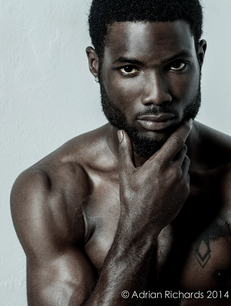 Dark skin men hot