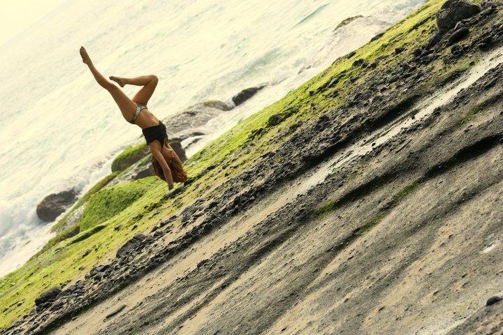 Female model photo shoot of Giselle Rarinca in Laguna Beach