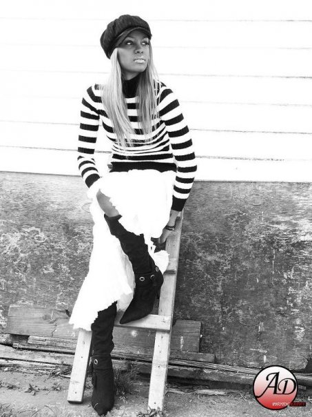 Female model photo shoot of Nana Cee