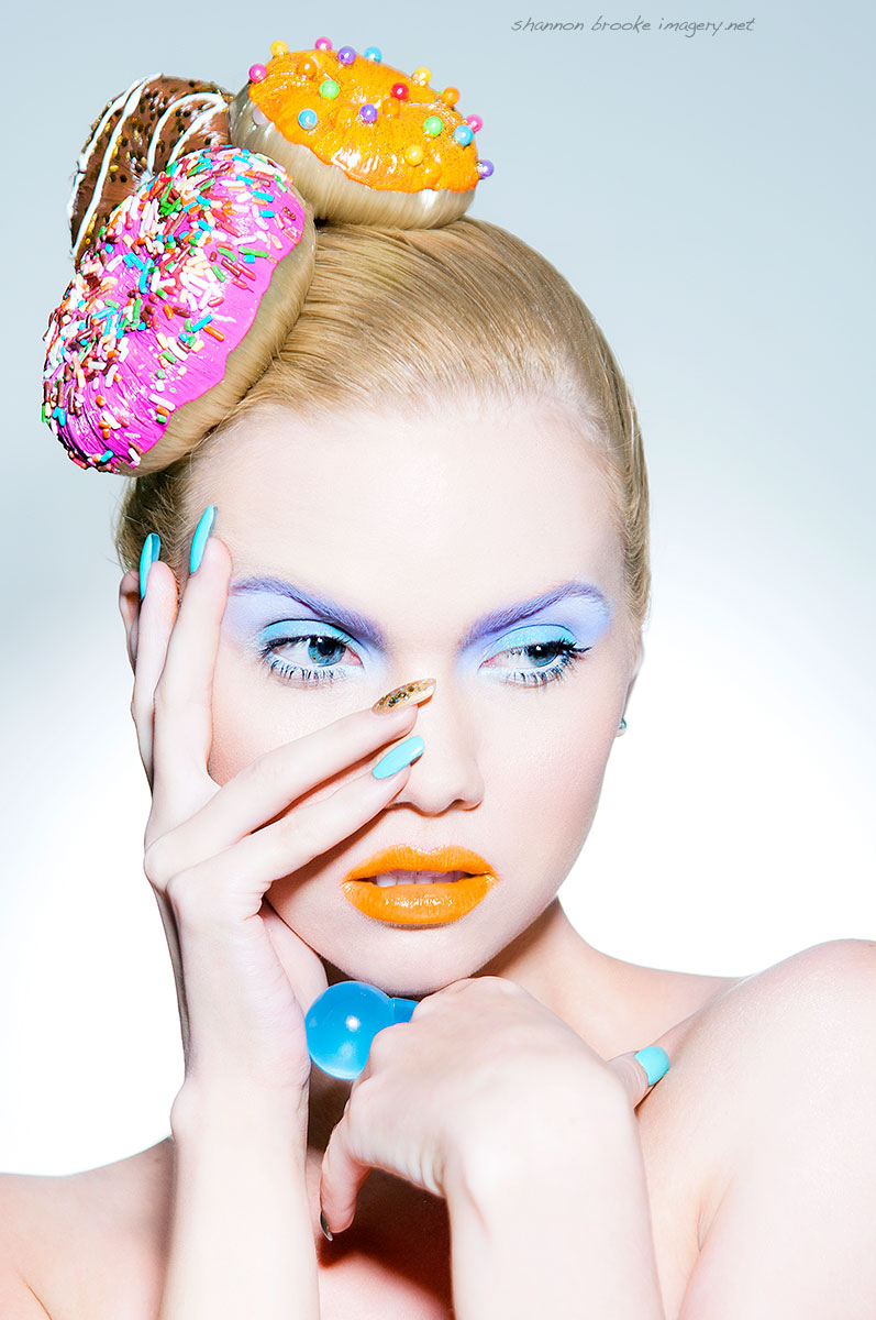 Female model photo shoot of Shannon Brooke, makeup by Jennifer Corona