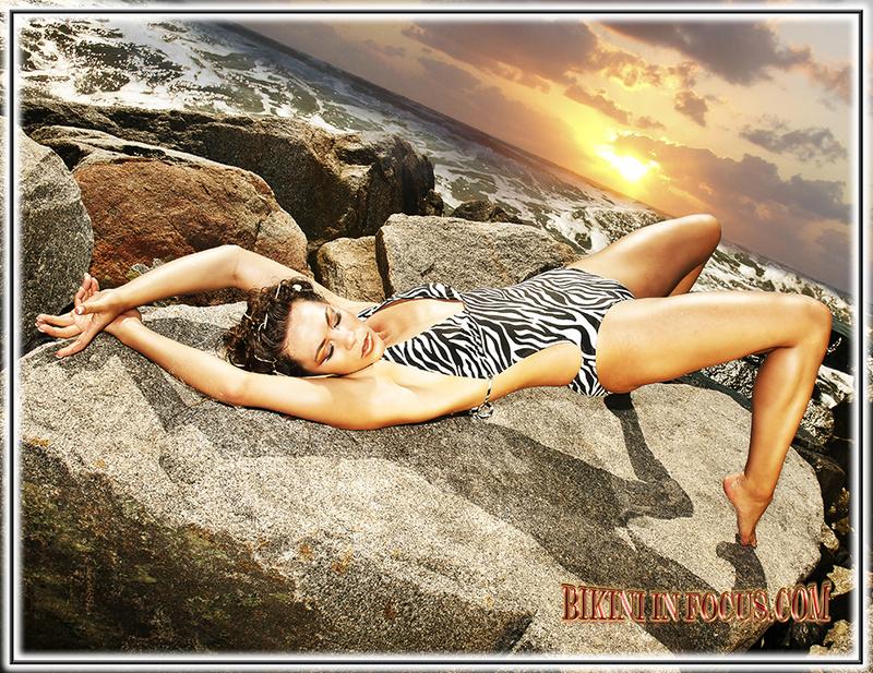 Beautiful Beach Jan 07, 2014 Bikini In Focus.com, Decerto Photography, LLC. Beautiful Sunset with Hannah Joy