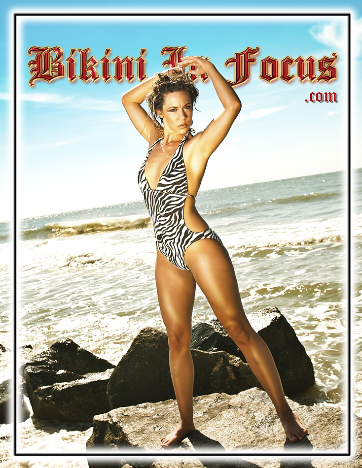 Folly Beach, SC Jan 07, 2014 Bikini In Focus.com, Decerto Photography, LLC. Lovely on The Rocks