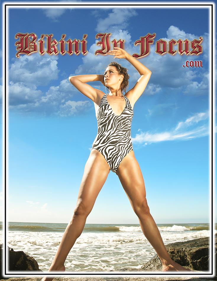 Oceanside Beach Jan 07, 2014 Bikini In Focus.com, Decerto Photography, LLC. Beautiful Skyline with Hannah Joy