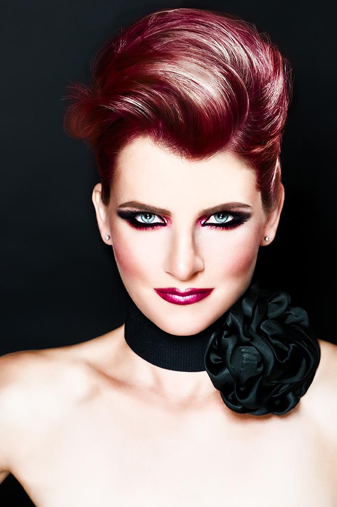 Female model photo shoot of IONA  MUA-HAIR in IRVINE-CALIFORNIA