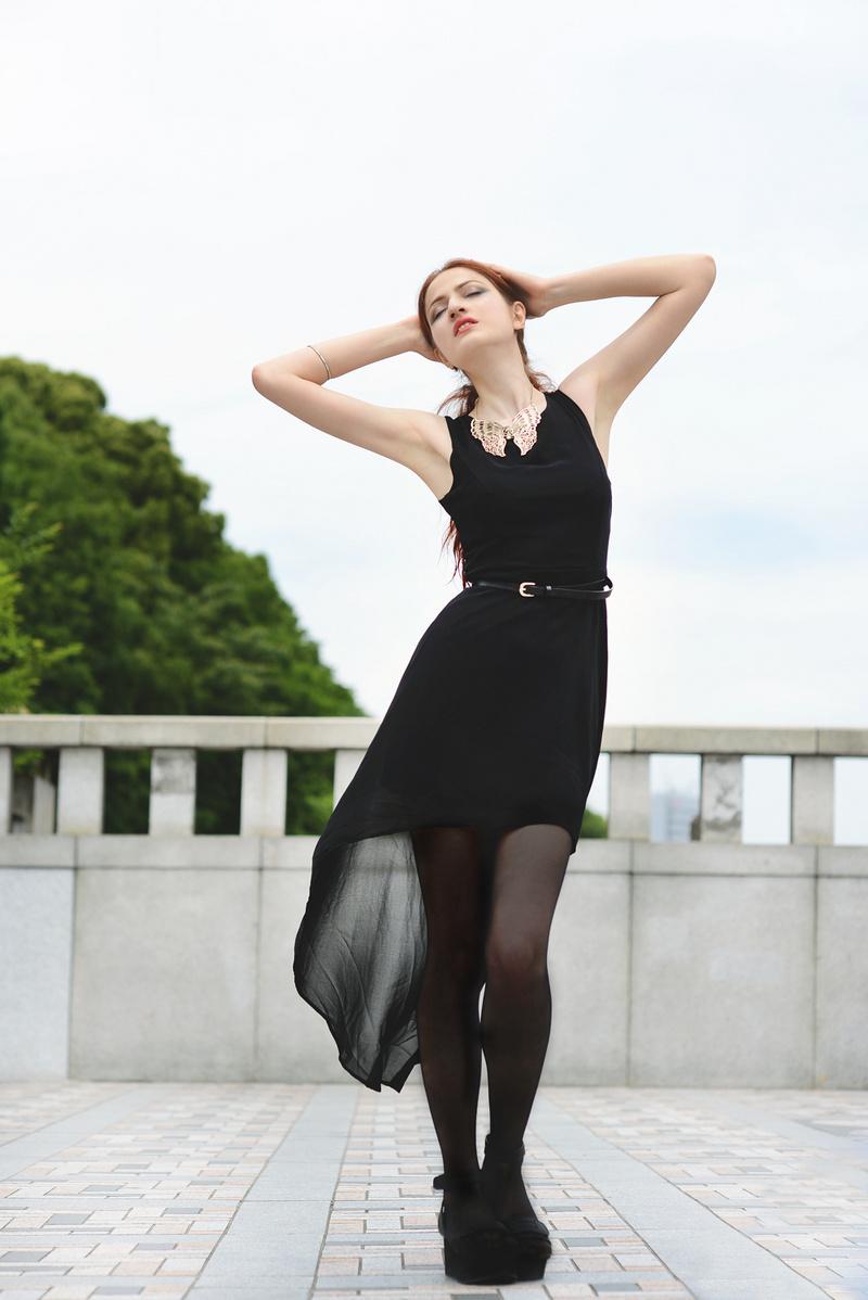 Female model photo shoot of Shorelines Photography and Madeleine Akaino in Hajaruku, Tokyo