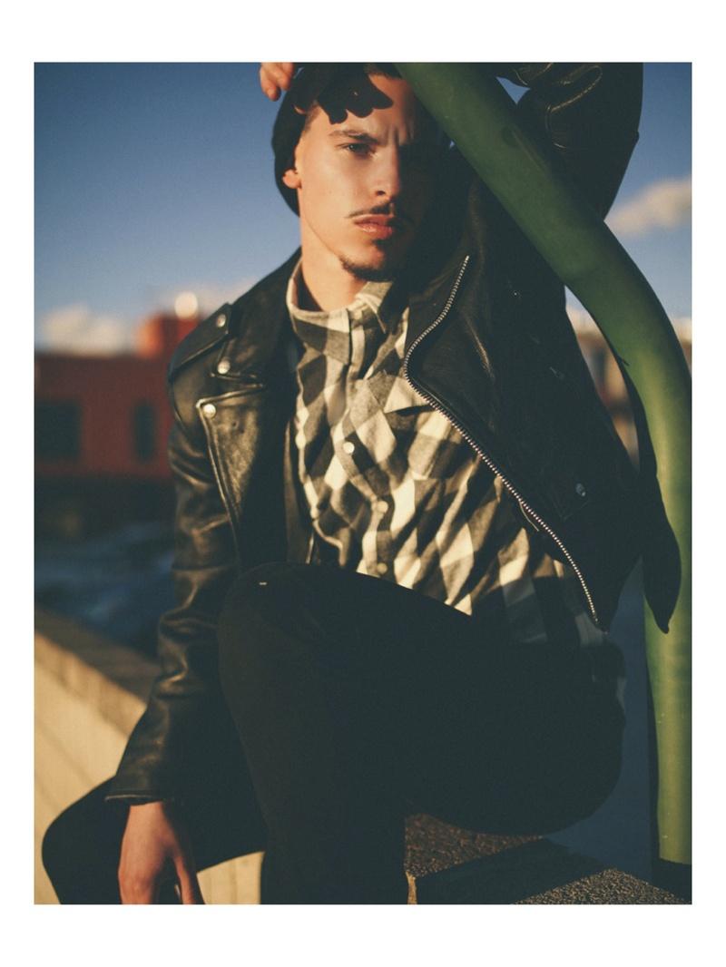 Male model photo shoot of Tyler Kelbert in Salt Lake City, Utah