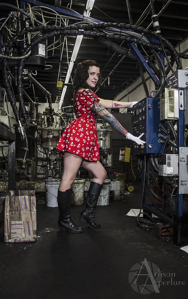Female model photo shoot of Artisan Aperture