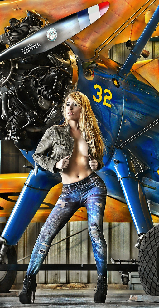 Upland CA Jan 10, 2014 SM Shot of Andrea taken at the SM Cable Airshow Photoshoot!
