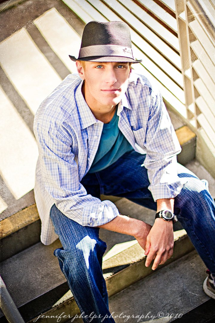 Male model photo shoot of Stetsonsmith