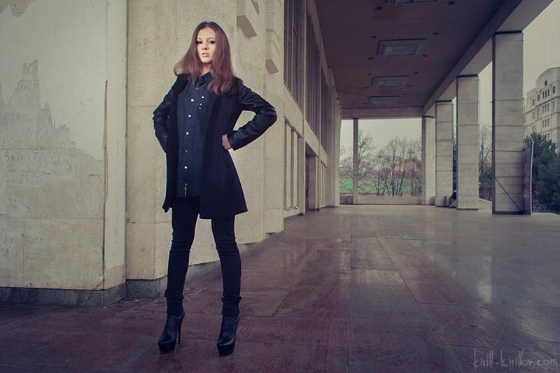 Female model photo shoot of Christine Harper in Moldova