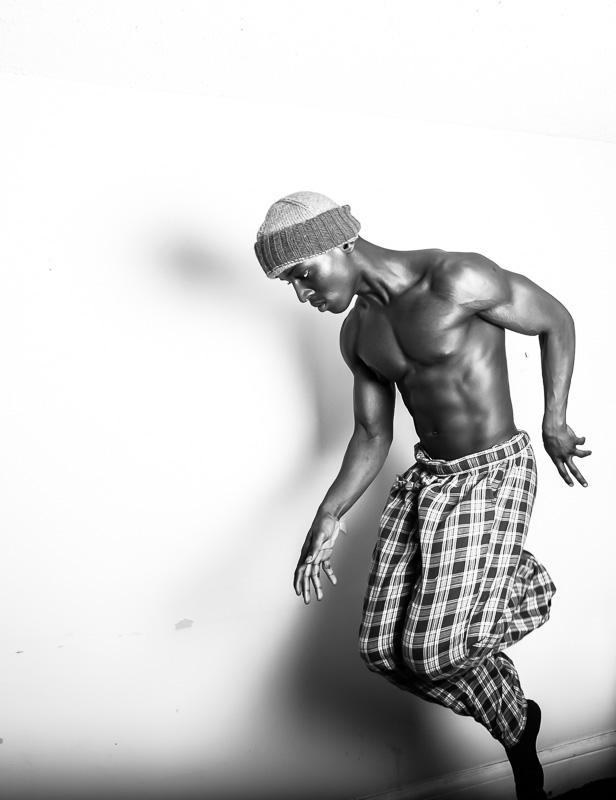 Male model photo shoot of Isaac Mansa trae