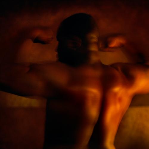 Male model photo shoot of scene6 in studio