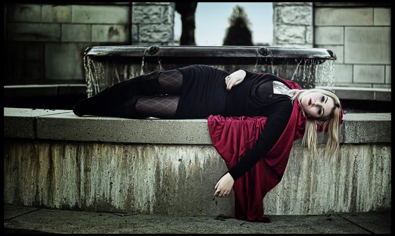 Female model photo shoot of Damiana Doe by Chris Koelbleitner