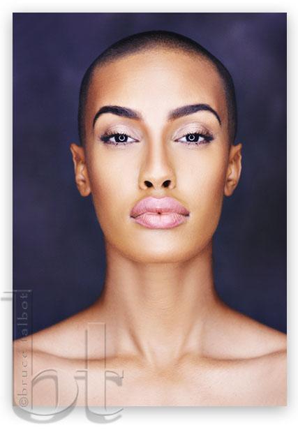 Female model photo shoot of AzMarie by Bruce Talbot