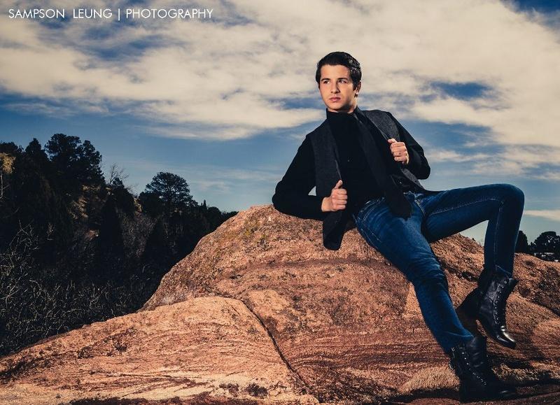 Male model photo shoot of William Maestas in Colorado Springs, Colorado