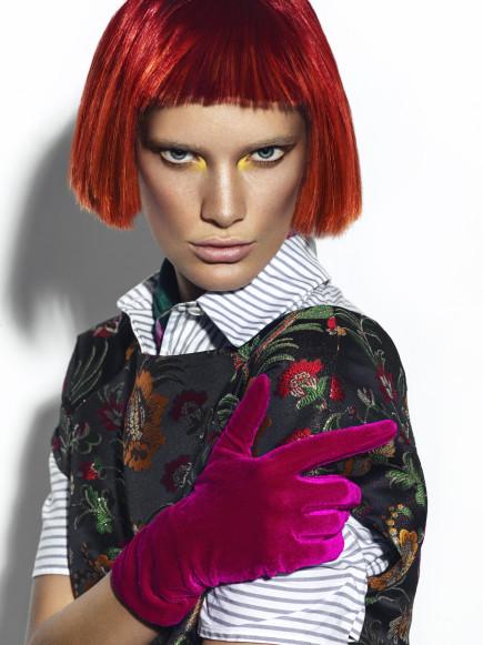 Female model photo shoot of MUArtist