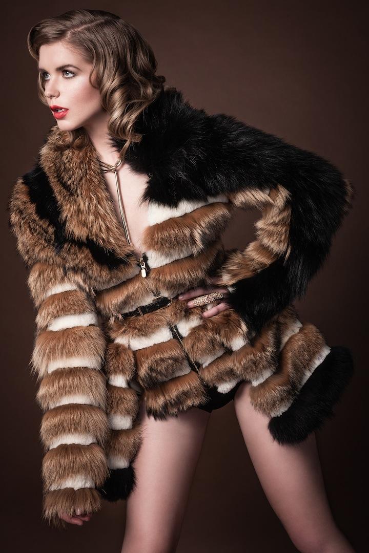 Female model photo shoot of iD Silhouette by Stephen M Loban